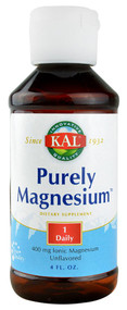 Kal, Purely Magnesium,  Unflavored - 4 fl oz