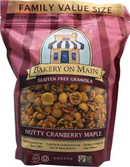 Bakery On Main, Gluten Free Granola,  Nutty Cranberry Maple - 22 oz