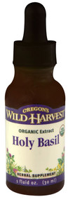 Oregons Wild Harvest, Holy Basil - 1 fl oz