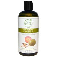 Petal Fresh, Pure, Age-Defying Shampoo, Grape Seed & Olive Oil, 16 fl oz (475 ml)