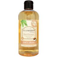 A La Maison de Provence, Bath and Shower Liquid Soap, Pure Coconut, 16.9 fl oz (500 ml)