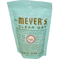 Mrs. Meyers Clean Day, Automatic Dish Packs, Basil Scent, 12.7 oz (360 g)