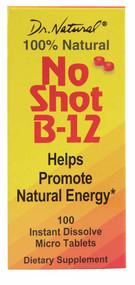 World Organic Dr. Natural No Shot B-12 - 1000 mcg - 100 MicroTab