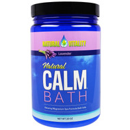 Natural Vitality, Natural Calm Bath, Lavender, 20 oz