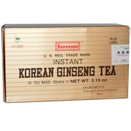 Chinese Imports, Instant Korean Ginseng Tea, 30 Tea Bags, 3.15 oz (3 g)