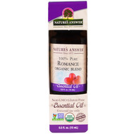 3 PACK OF Natures Answer, 100% Pure, Organic Blend Essential Oil, Romance, 0.5 fl oz (15 ml)