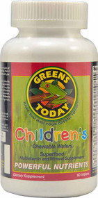 Greens Today Children's Superfood Chewable Wafers - 60 Chewable Wafers