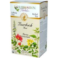 Celebration Herbals, Herbal Tea, Burdock Root, Bulk Tea, Caffeine Free, 2.11 oz (60 g)