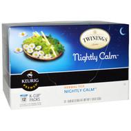 Twinings, Herbal Tea, Nightly Calm, 12 K-Cups, 0.09 oz (2.8 g) Each