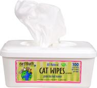 Earthbath Green Tea Leaf Cat Wipes with Awapuhi - 100 Wipes