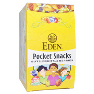 Eden Foods, Organic, Pocket Snacks, Pumpkin Seeds, Dry Roasted, 12 Packages, 1 oz (28.3 g) Each