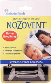 Scandinavian Formulas Nozovent Anti-Snoring Device -- 2 Pieces