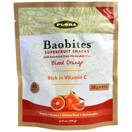 Flora, Baobites, Blood Orange, 6.17 oz (175 g)