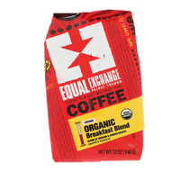3 PACK OF Equal Exchange, Organic, Coffee, Breakfast Blend, Ground, 12 oz (340 g)