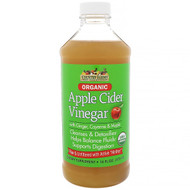 3 PACK OF Country Farms, Organic, Apple Cider Vinegar with Ginger, Cayenne & Maple, 16 fl oz (473 ml)