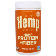 Just Hemp Foods, Hemp Protein + Fiber, 16 oz (454 g)