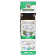 Natures Answer, Organic Essential Oil, 100% Pure Rosemary, 0.5 fl oz (15 ml)