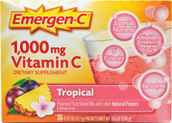 Emergen-C Vitamin C Fizzy Drink Mix Tropical - 1000 mg - 30 Packets