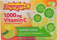 Emergen-C Vitamin C Fizzy Drink Mix Lemon Lime - 1000 mg - 30 Packets