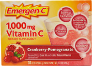 Emergen-C Vitamin C Fizzy Drink Mix Cranberry Pomegranate - 1000 mg - 30 Packets
