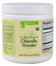 Vitaco, Certified Organic Chlorella Powder - 2000 mg - 3.5 oz (100 g)