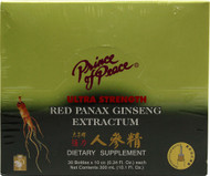 Prince of Peace, Red Panax Ginseng Extractum Ultra Strength - 30 Bottles