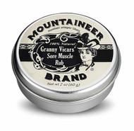 Mountaineer Brand Granny Vicars' Sore Muscle Rub - 2 oz