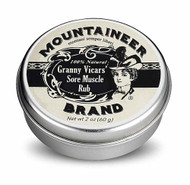 Mountaineer Brand Granny Vicars' Sore Muscle Rub - 2 oz