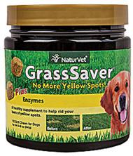NaturVet, GrassSaver for Dogs - 120 Soft Chews