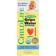 3 PACK OF ChildLife, Organic Gripe Water, 2 fl oz (59.15 ml)