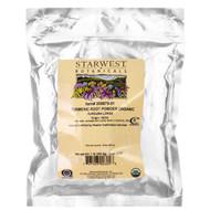 Starwest Botanicals, Turmeric Root Powder Organic, 1 lb (453.6 g)