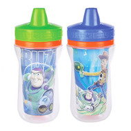 3 PACK OF The First Years, Disney Pixar, Toy Story 3, Insulated Sippy Cups, 9+ Months, 2 Pack - 9 oz (266 ml) Each