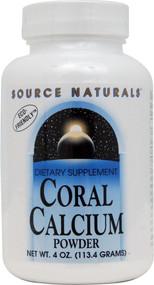 Source Naturals, Coral Calcium Powder - 4 oz