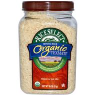 Rice Select, Organic Texmati White Rice, Long Grain American Basmati, 32 oz (907.2 g)