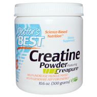 Doctors Best, Creatine Powder Featuring Creapure, 10.6 oz (300 g)