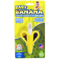 Baby Banana, Teething Toothbrush for Infants, 1 Teether