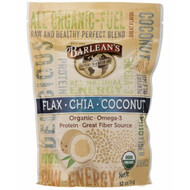 Barleans, Flax-Chia-Coconut Blend, 12 oz (340 g)