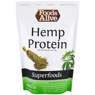 3 PACK OF Foods Alive, Organic, Superfoods, Hemp Protein Powder, 8 oz (227 g)