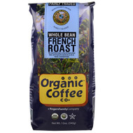 Organic Coffee Co., Organic French Roast, Whole Bean Coffee, 12 oz (340 g)
