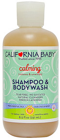 California Baby, Calming Shampoo and Bodywash French Lavender - 8.5 fl oz