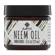 3 PACK OF Alaffia, Neem Oil, Unrefined, 2 fl oz (59 ml)
