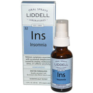 Liddell Homeopathic Insomnia Oral Spray - 1 fl oz