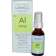 Liddell Homeopathic Oral Allergy Spray - 1 fl oz