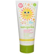 BabyGanics, Mineral-Based Sunscreen, 50+ SPF, 6 fl oz (177 ml)