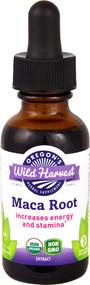 3 PACK of Oregons Wild Harvest Organic Maca Root -- 1 fl oz