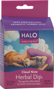 Halo Purely For Pets, Cloud Nine Herbal Dip For Cats and Dogs - 0.5 fl oz