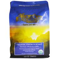 Mt. Whitney Coffee Roasters, Organic French Roast, Dark Roast Whole Bean Coffee, 12 oz (340 g)