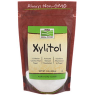 Now Foods, Real Food, Xylitol, 1 lb (454 g)