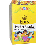 Eden Foods, Organic, Pocket Snacks, Spicy Pumpkin Dry Roasted Seeds, 12 Packages, 1 oz (28.3 g) Each