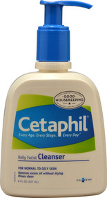 Cetaphil, Daily Facial Cleanser, 8 fl oz (237 ml)